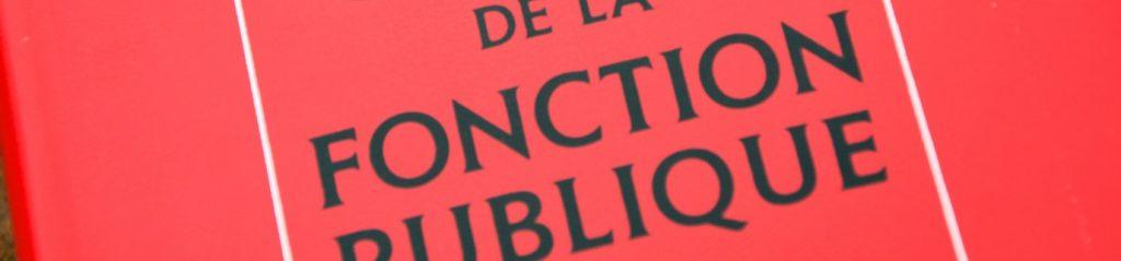 Droit statutaire de la Fonction Publique